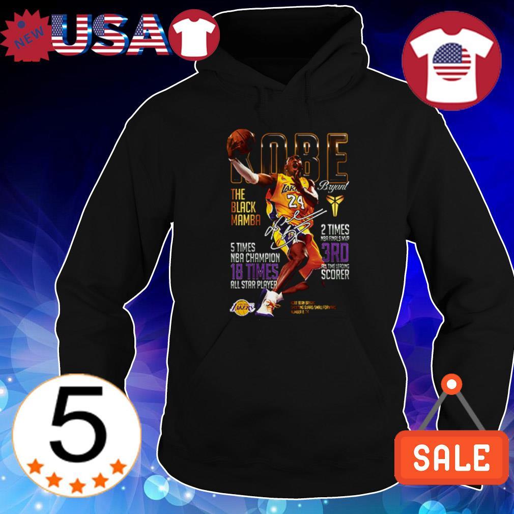 Kobe Bryant The Black Mamba signature shirt