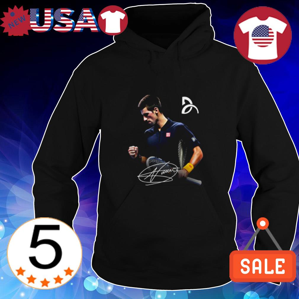 Official Novak Djokovic signature shirt