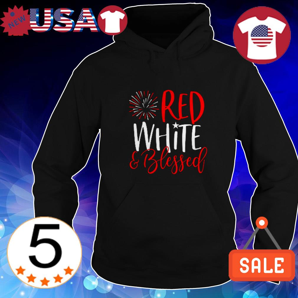 Red white and blessed shirt