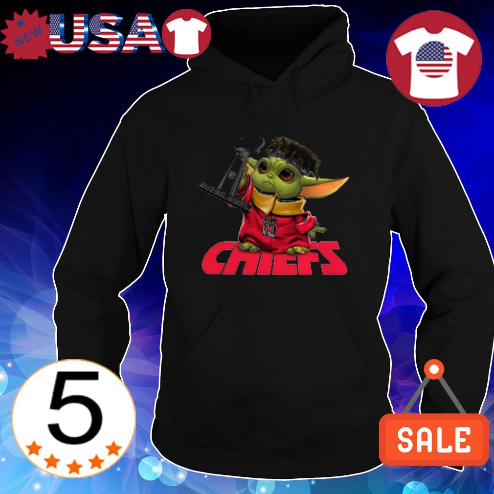 Baby Yoda Kansas City Chiefs Super Bowl shirt