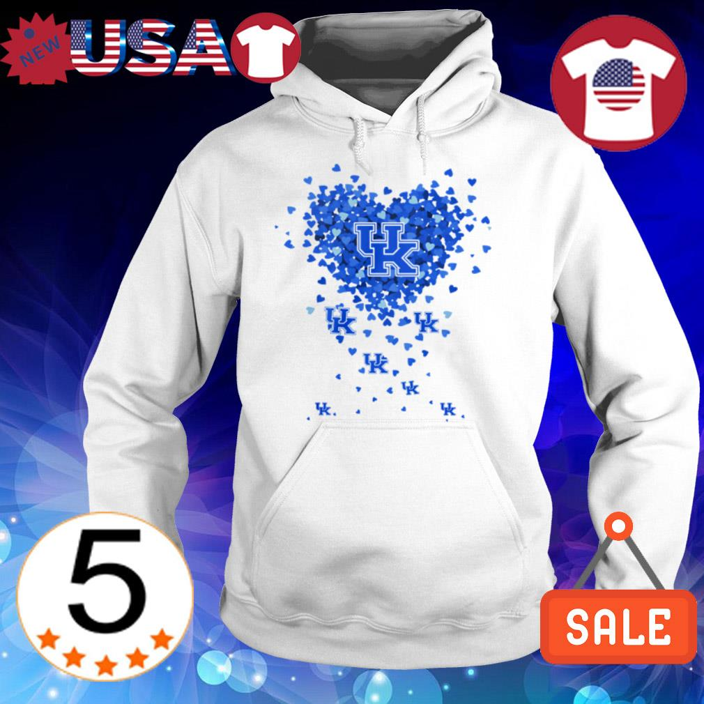 Kentucky Wildcats heart shirt