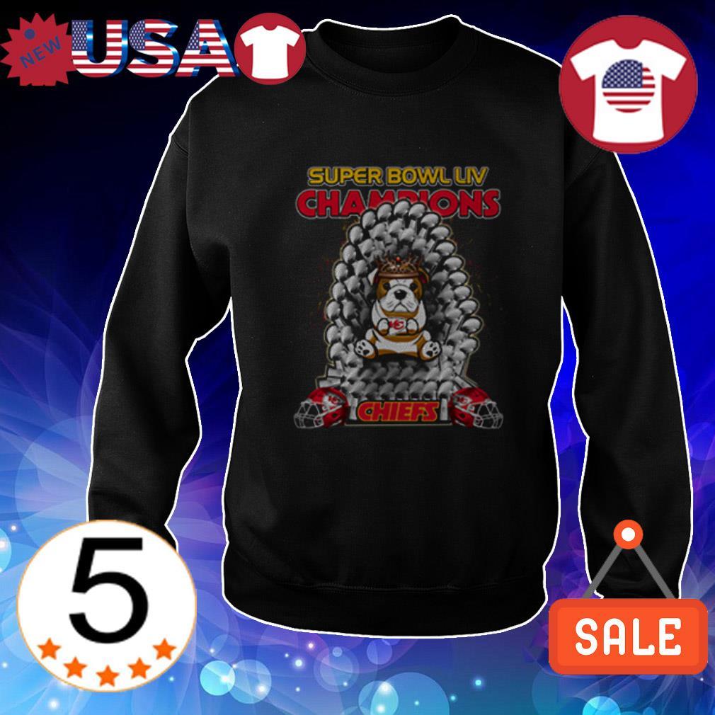 Bulldog Kansas City Chiefs Super Bowl LIV Champions shirt