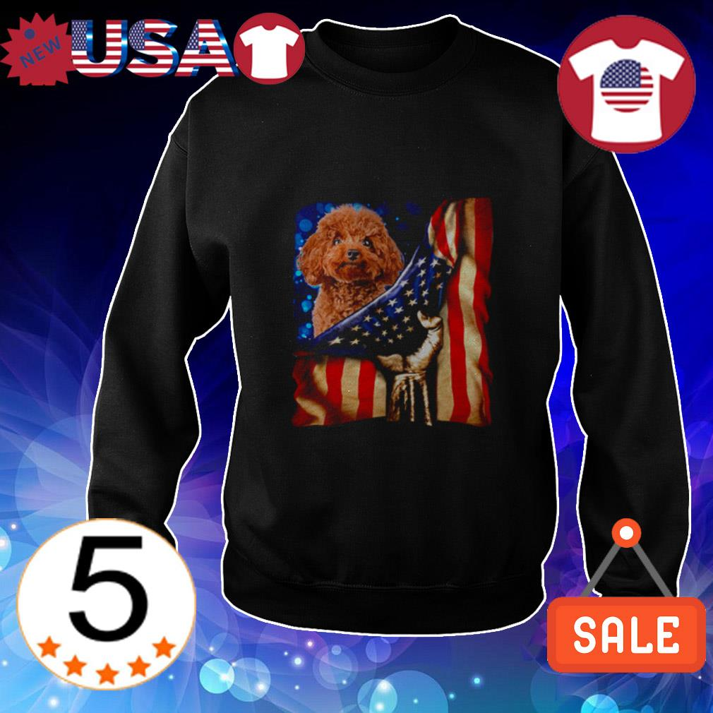4th of July independence day Poodle American shirt