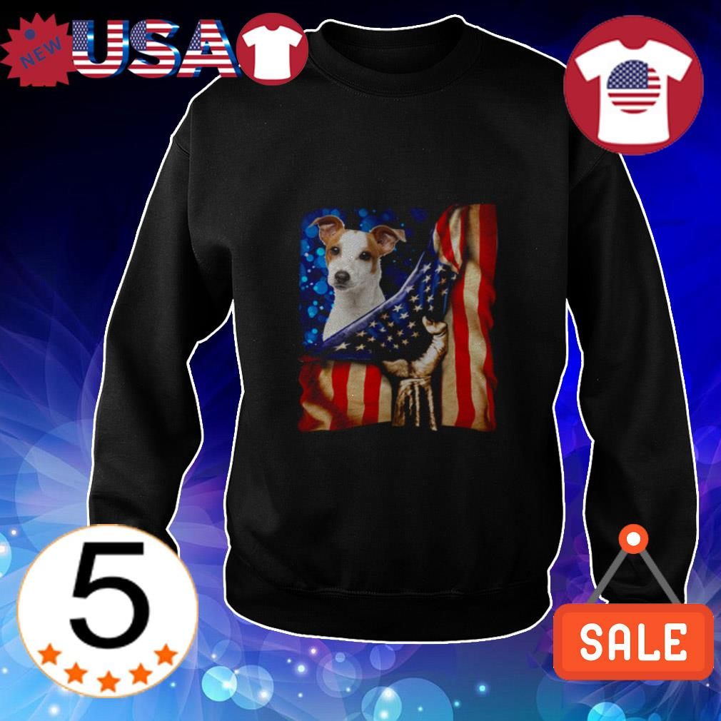 4th of July independence day Jack Russell Terrier American shirt