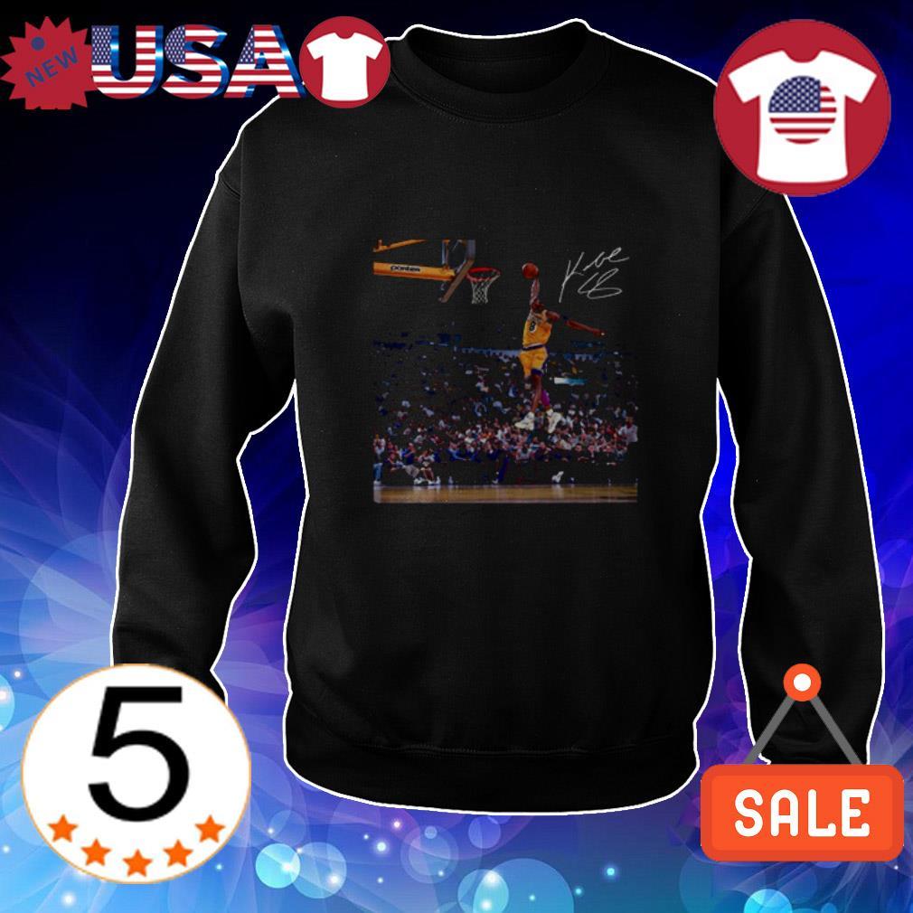 Kobe Bryant The Dunk signature shirt