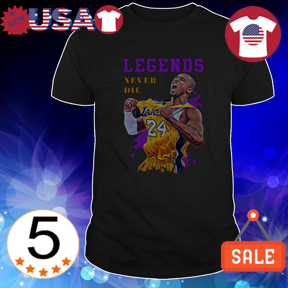 Kobe Bryant Legends Never Die shirt