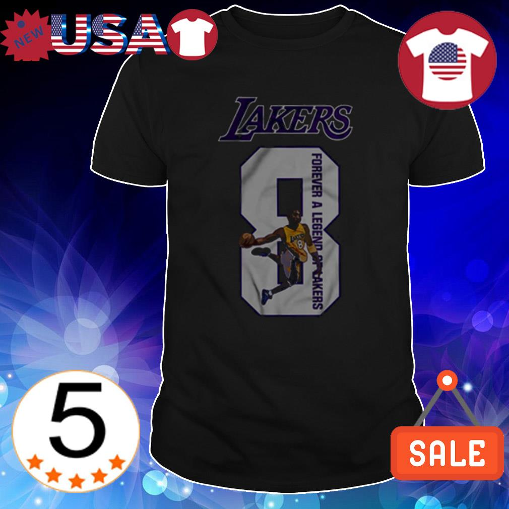 Kobe Bryant Lakers 8 Forever A Legend Of Lakers shirt