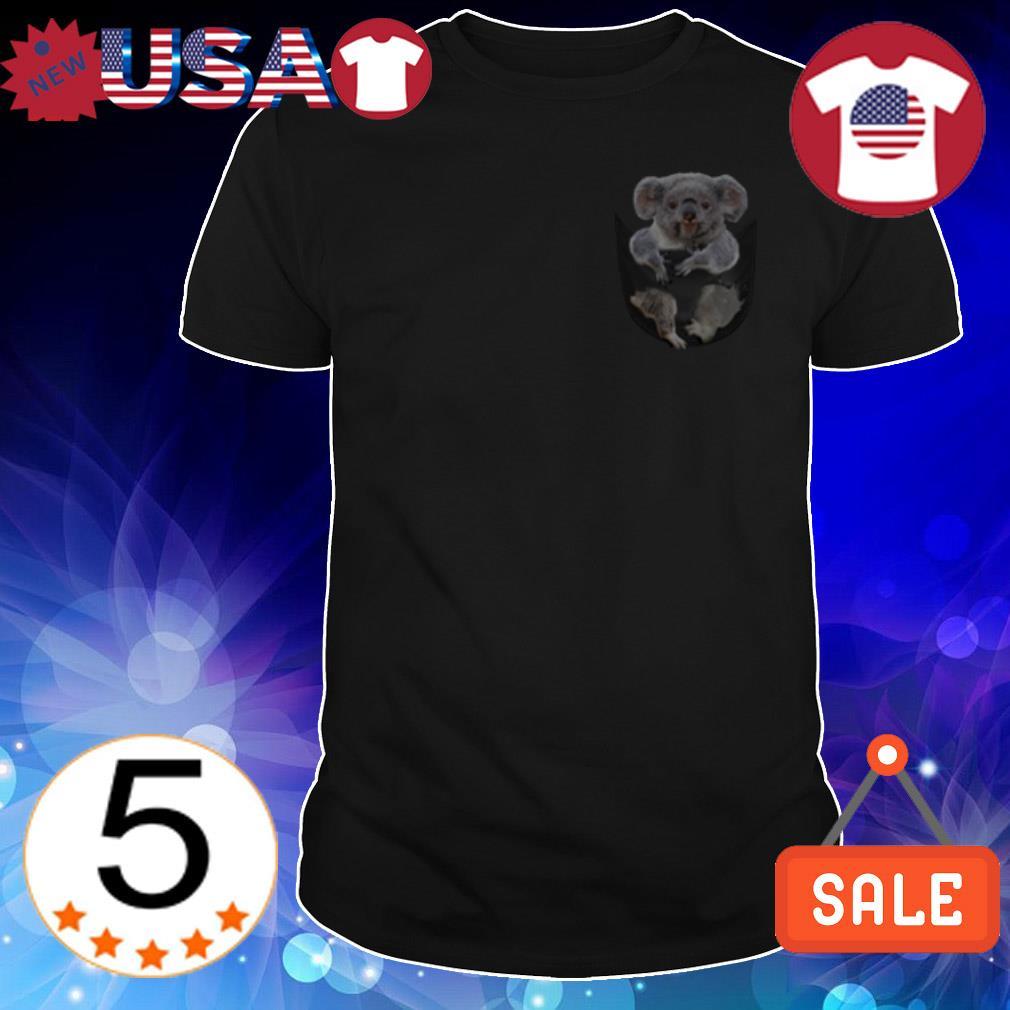 Koala in pocket shirt