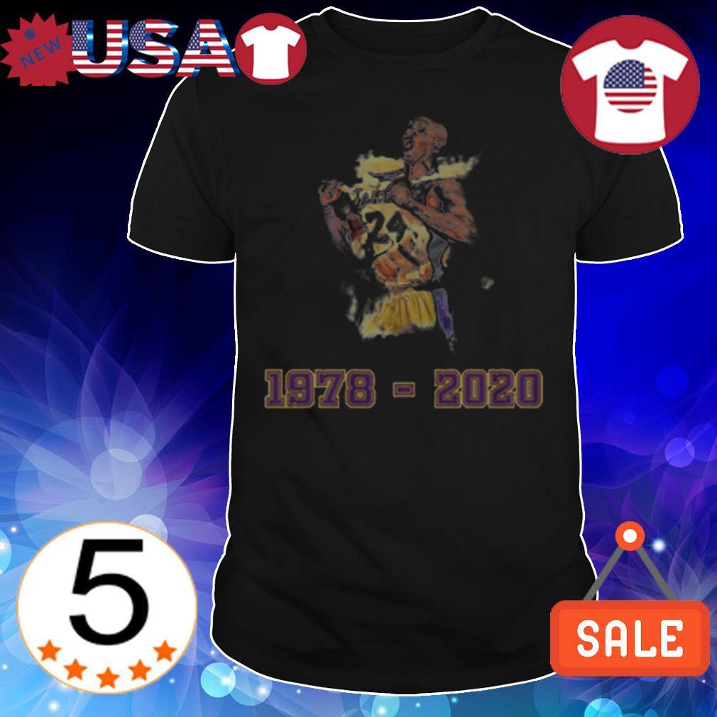 Kobe Bryant 1978 2020 shirt