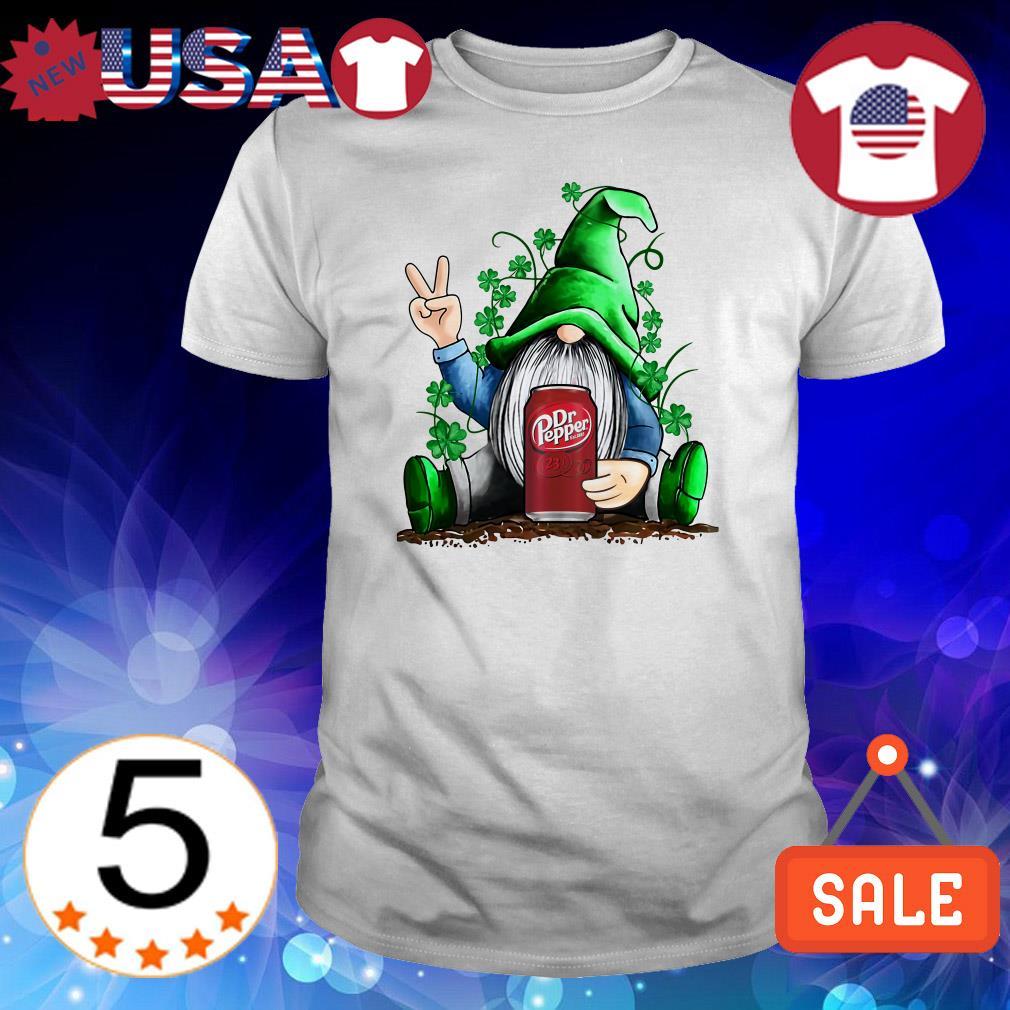 Gnome hug Dr Pepper Irish St. Patrick's day shirt, hoodie, sweater Gift Trending Design T Shirt