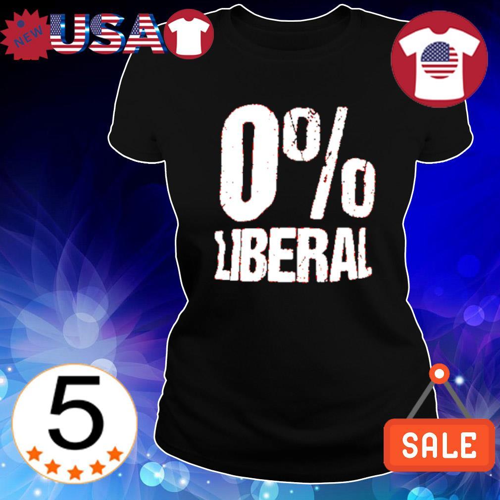 0% Liberal s Ladies Tee-Black