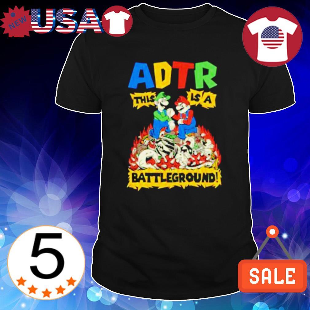 ADTR this is a battleground shirt