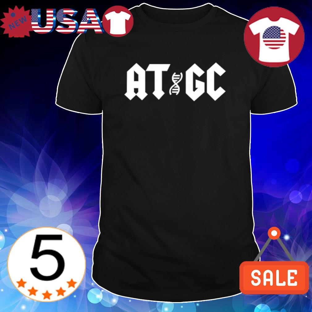 ATGC Chemical structure of DNA shirt