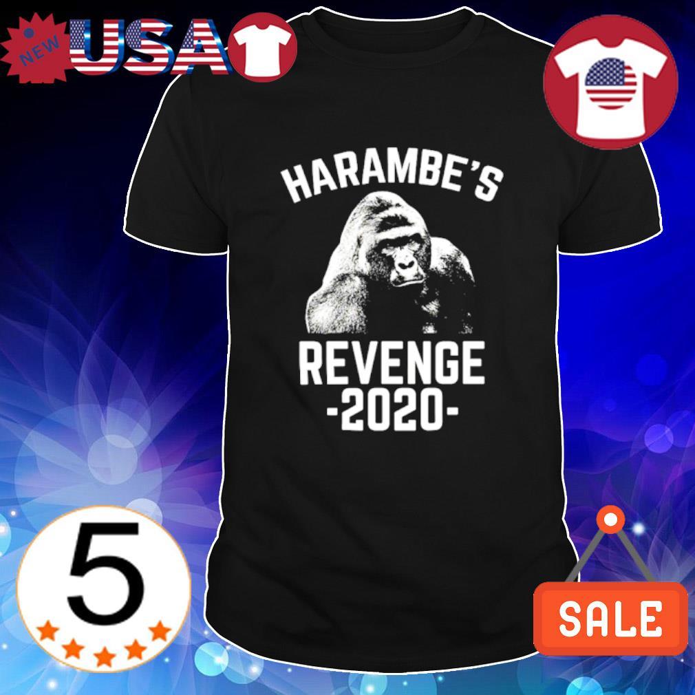 Bigfoot harambe's revenge 2020 shirt