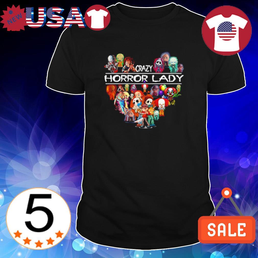 Crazy Horror lady shirt