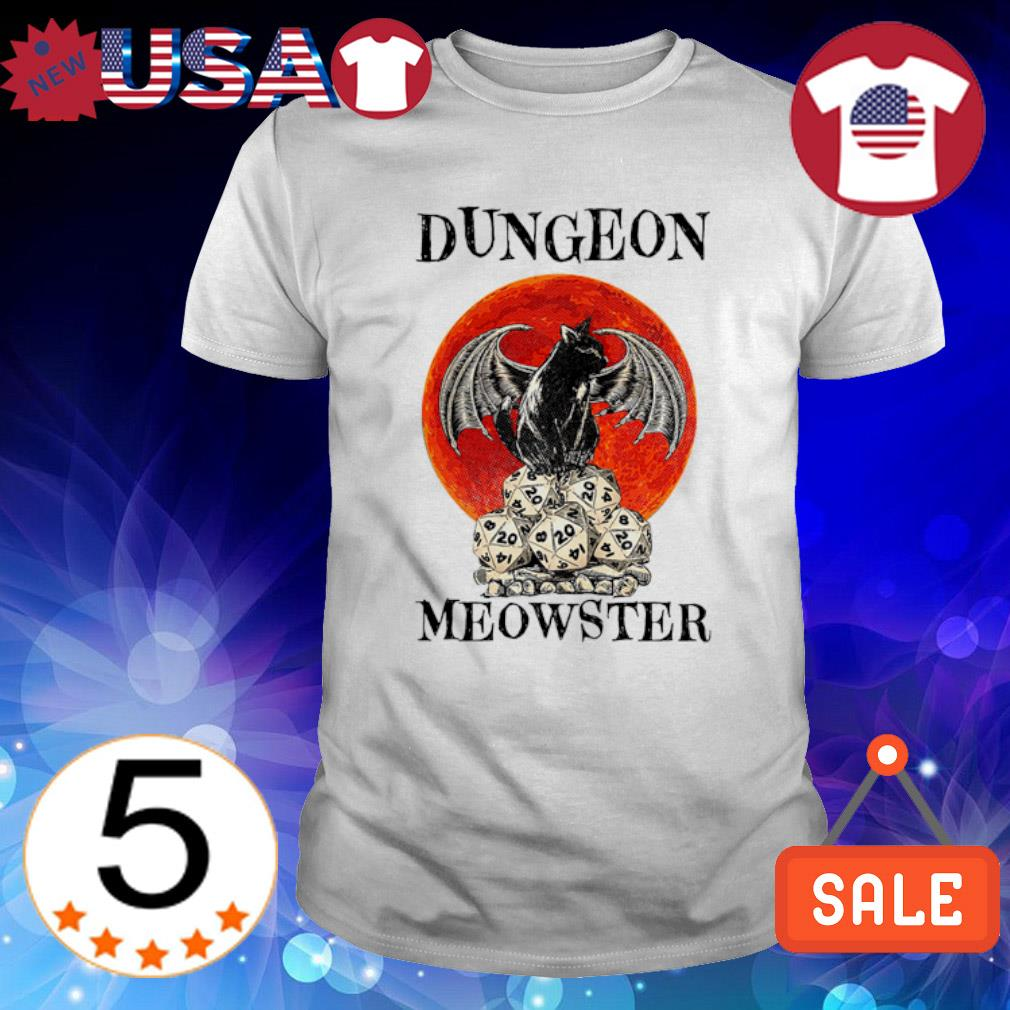 Dungeons & Dragons Cat Dungeon Meowster shirt