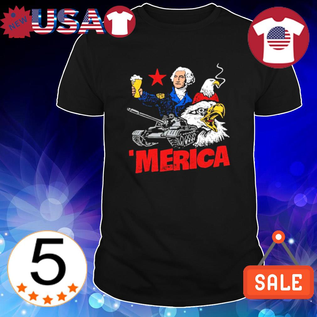 George Washington Beer Merica shirt