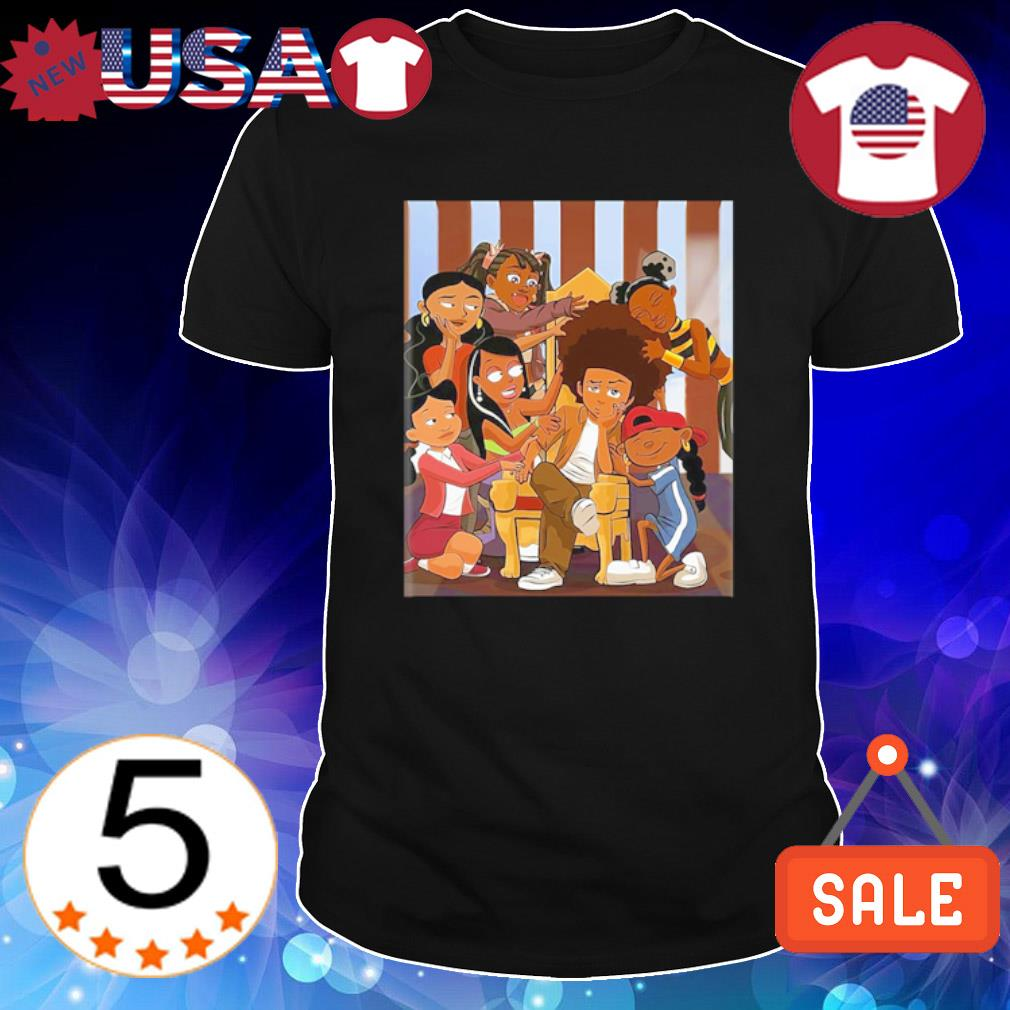 Huey freeman and penny proud shirt