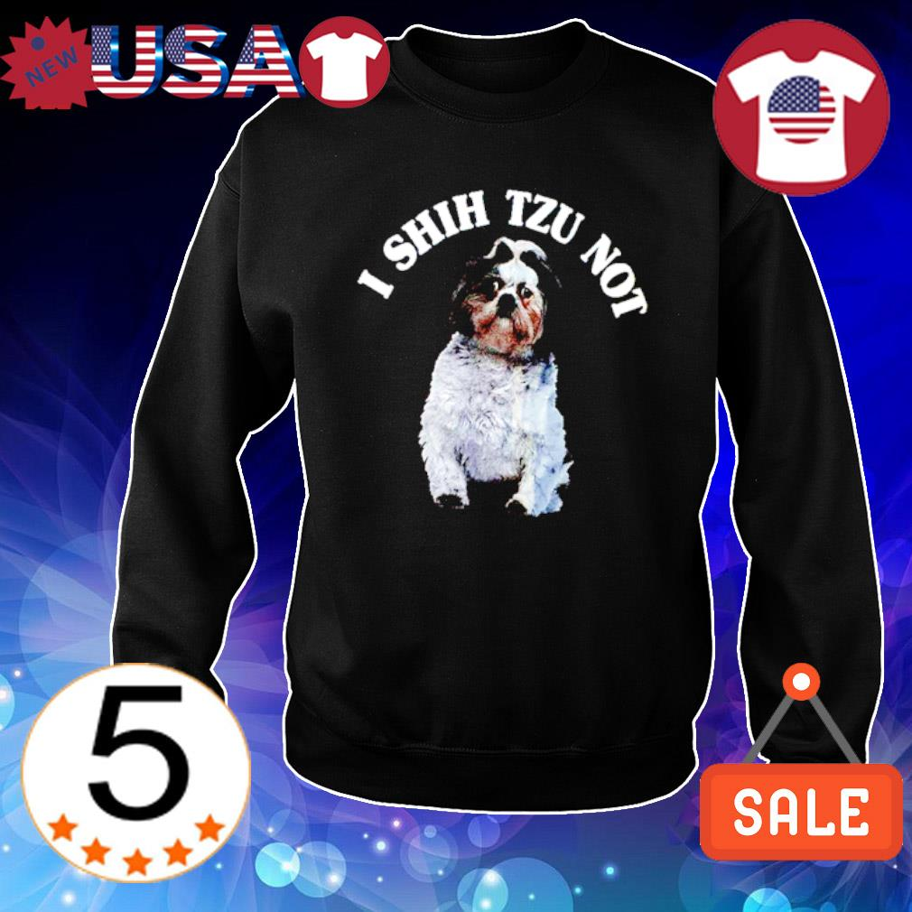I Shih Tzu not s Sweater Black