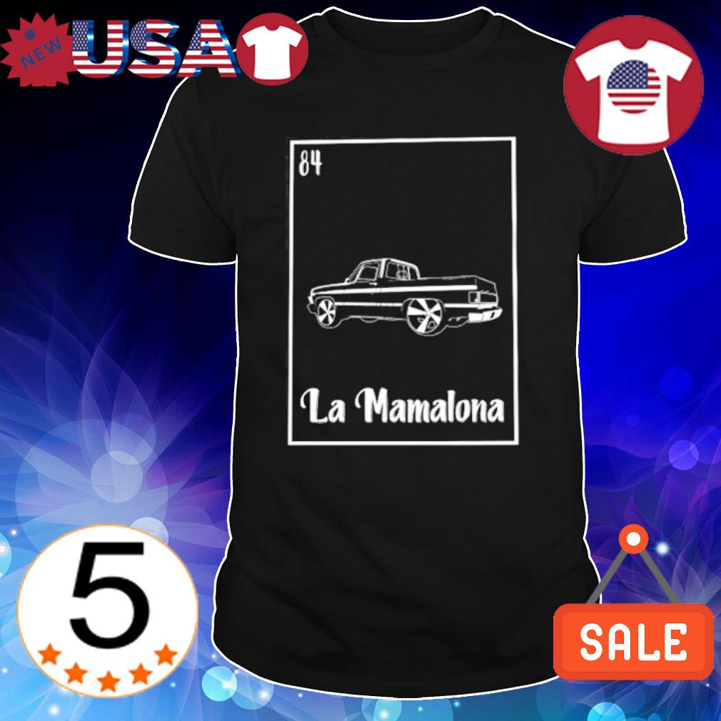 La Mamalona Car 84 Black shirt