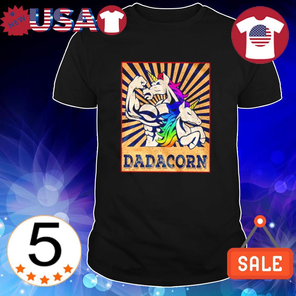 LGBT Unicorn Dadacorn shirt