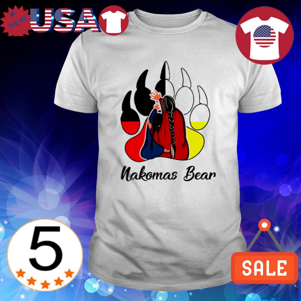 Native American bear paw Nakomas Bear shirt