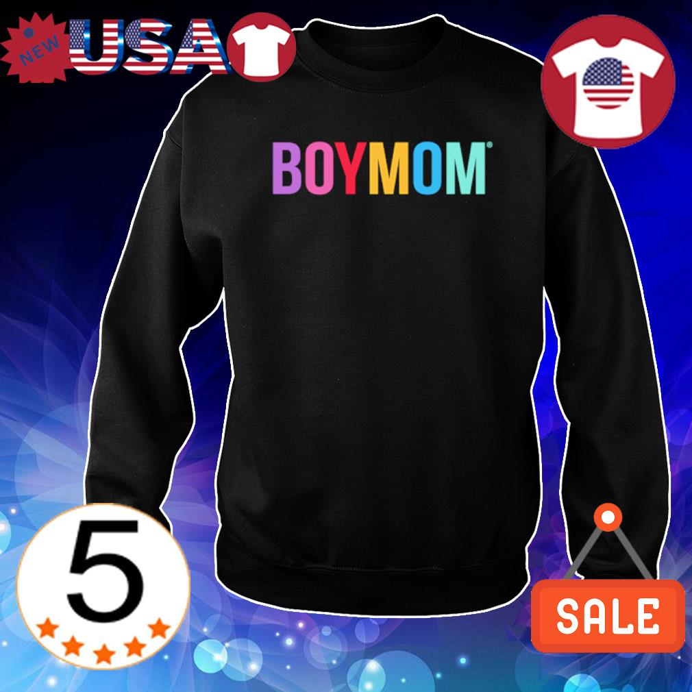 Official Boy Mom happy s Sweater Black
