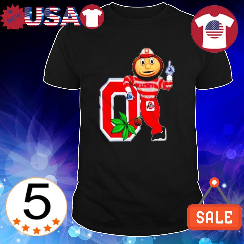Ohio State Buckeyes Mascot Garden Statue shirt