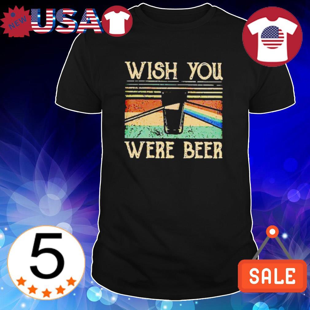 Pink Floyd Wish You Were Beer Vintage Shirt