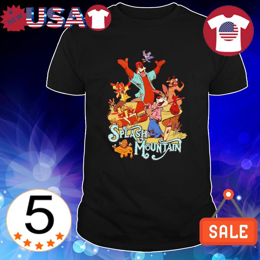 Splash Mountain bear and rabbit shirt