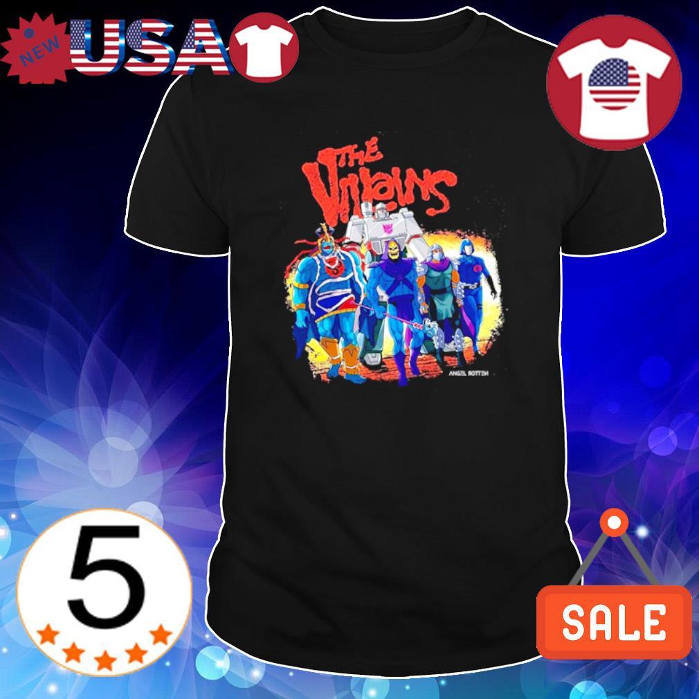 The Villains Lair characters shirt