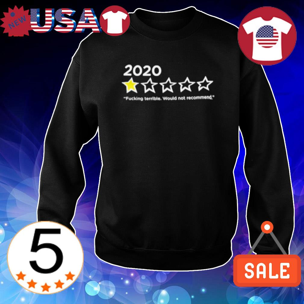 2020 fucking terrible would not recommend s Sweater Black