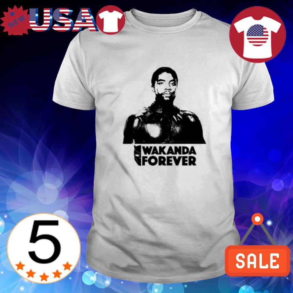 Chadwick Boseman Black Panther wakanda forever shirt