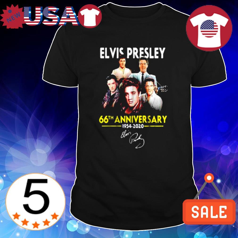 Elvis Presley 66th Anniversary 1954 2020 signature shirt