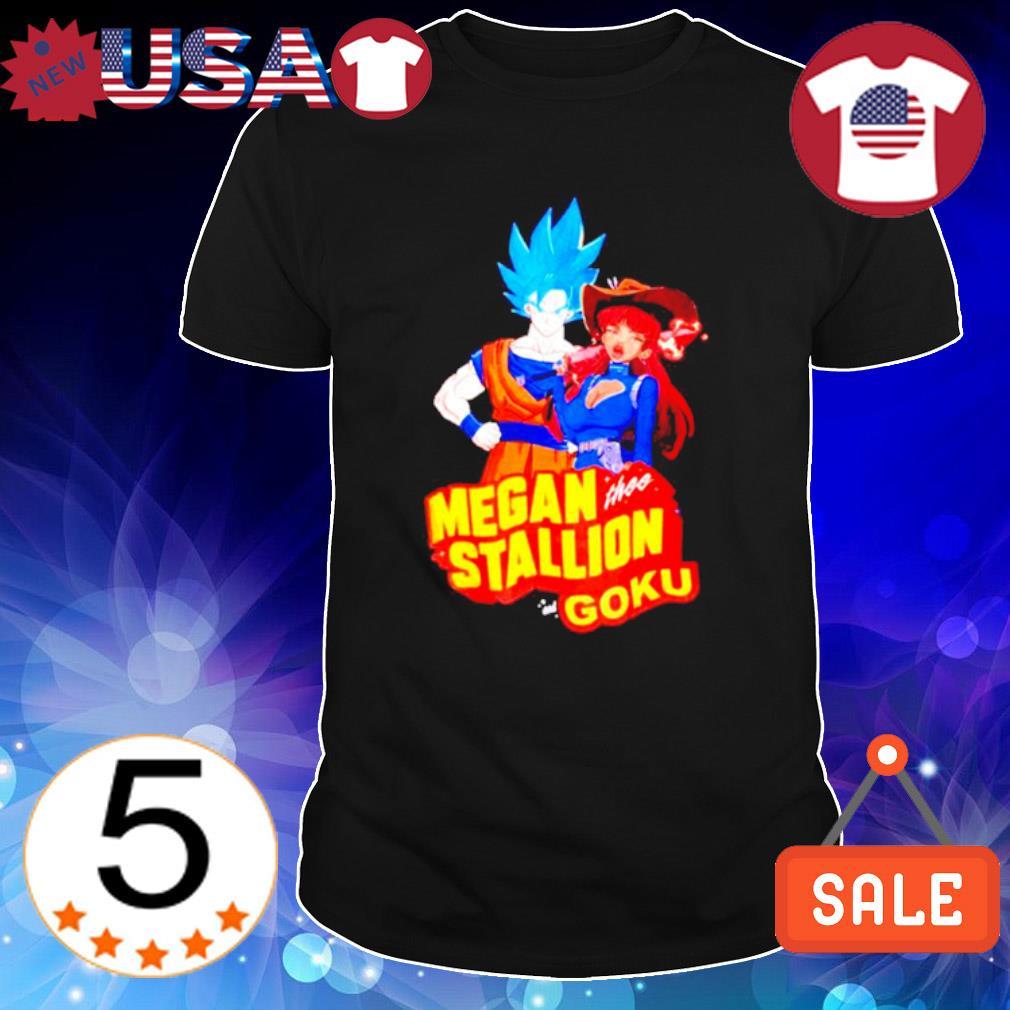 Megan thee stallion Goku shirt