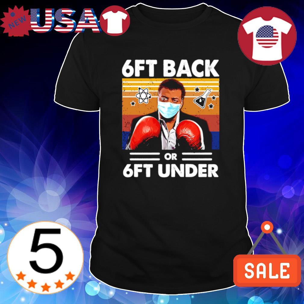 Science 6ft back or 6ft under vintage shirt