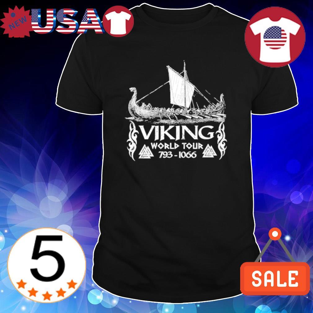 Viking world tour 793 1066 shirt