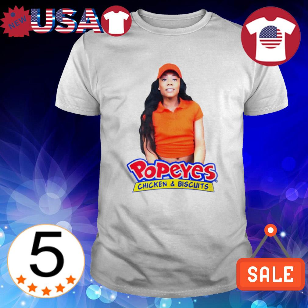 Yayla Foxx Popeyes chicken and biscuits shirt