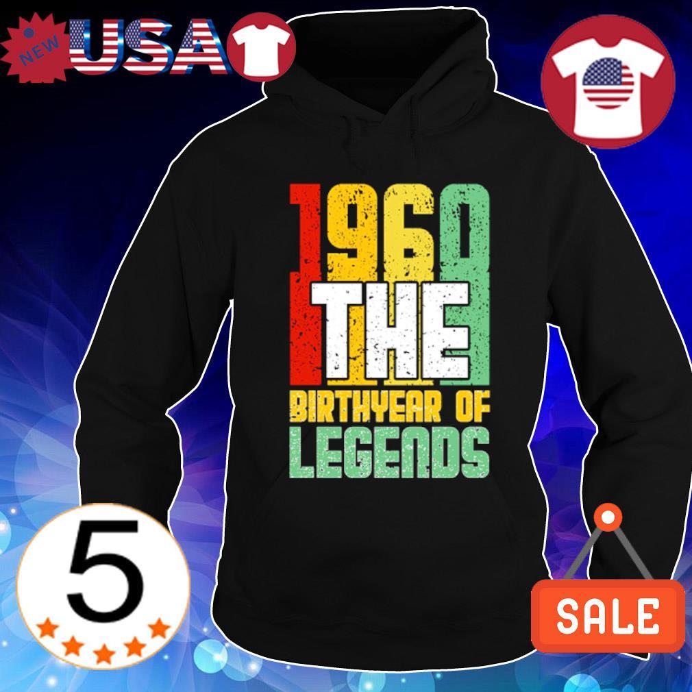 1960 the birth year of legends vintage s Hoodie Black