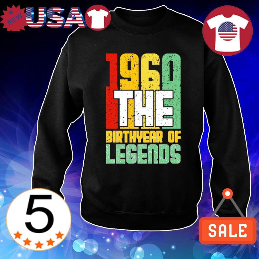 1960 the birth year of legends vintage s Sweater Black