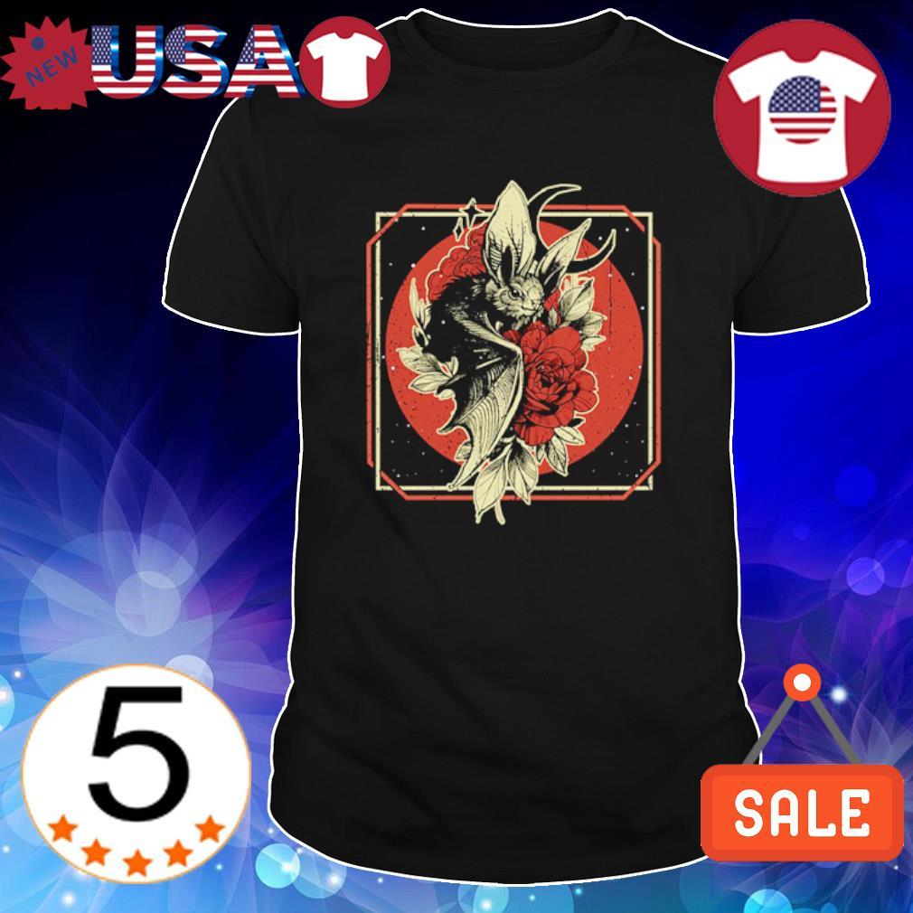 Bat Witch hug Rose Halloween shirt
