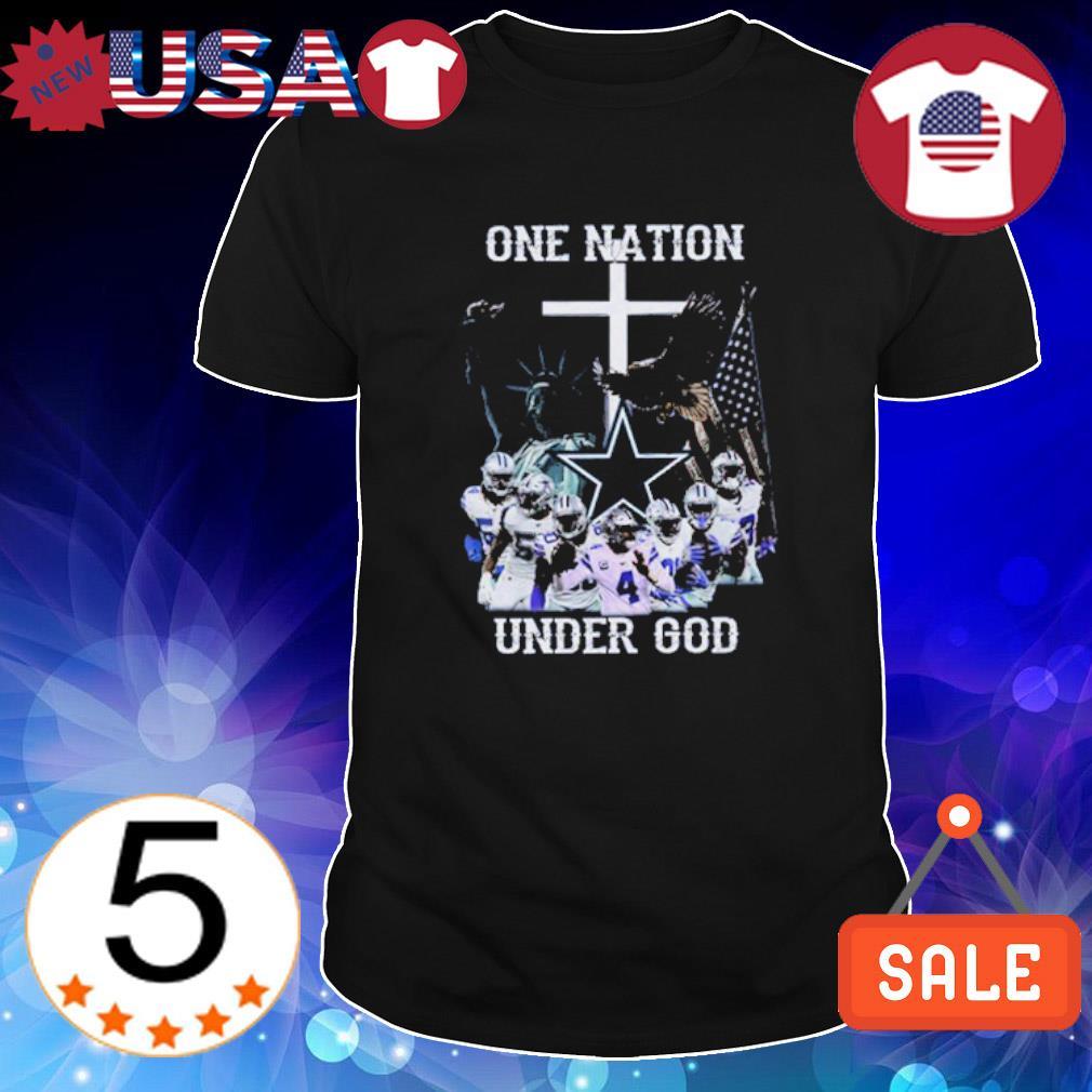 Dallas Cowboys one nation under God shirt