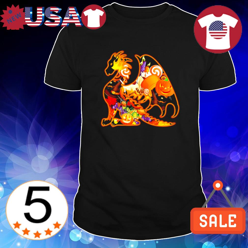 Dragon as Halloween shirt
