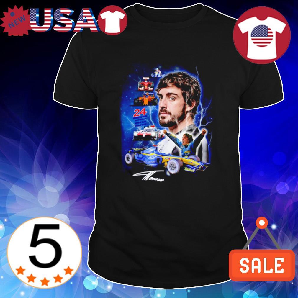 Fernando Alonso McLaren 24 winner 2012 2015 shirt