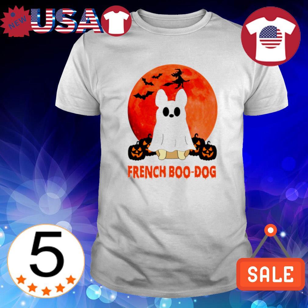 Frenchie Bulldog Boo French Boo-dog Halloween shirt