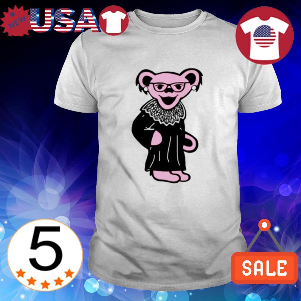 Grateful Dead Pink Glitter Bear Ruth Bader Ginsburg shirt