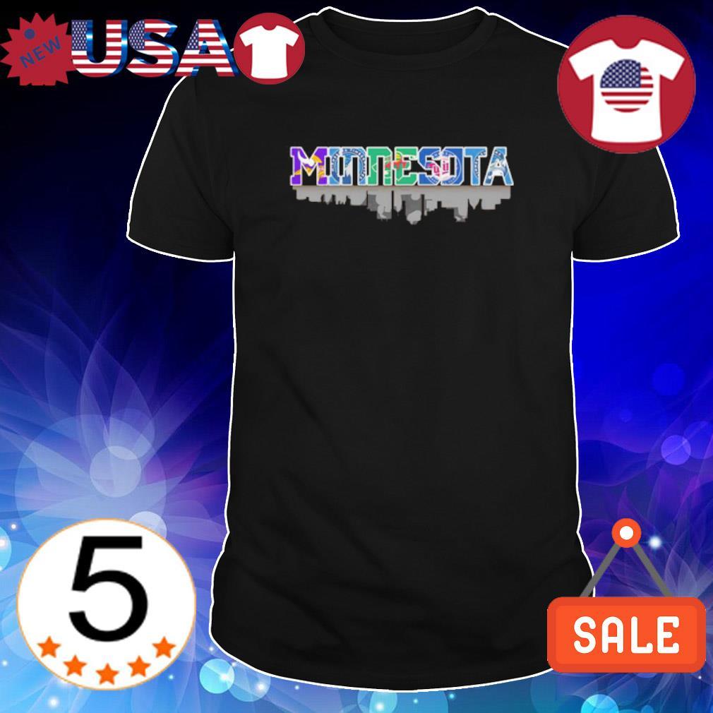 Minnesota city top sport teams shirt