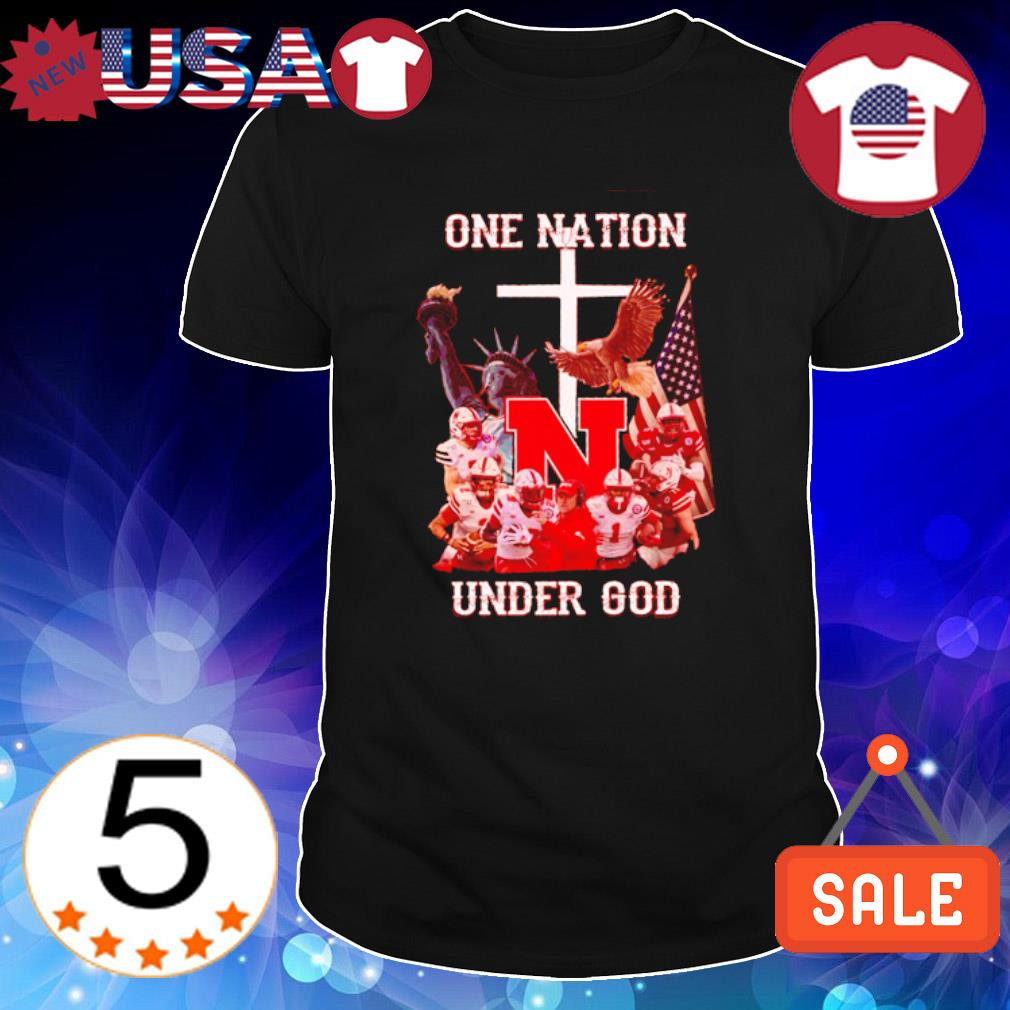 Nebraska Cornhuskers one nationo under God shirt
