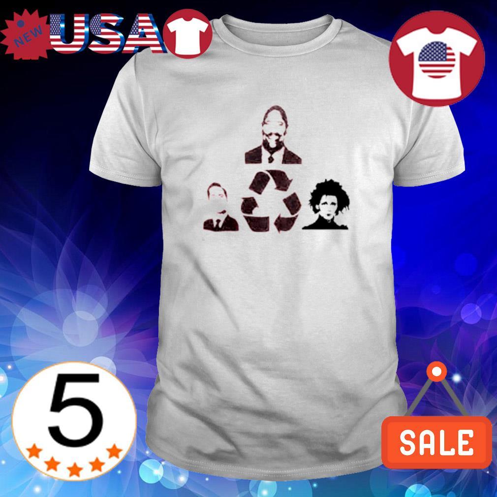The Rock and Michael Scott and Edward Scissorhands shirt