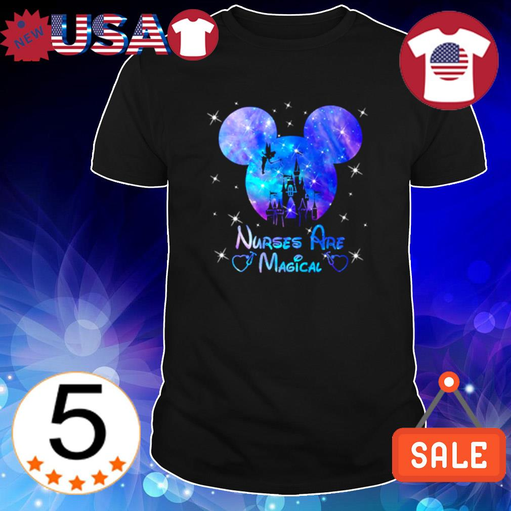 Tinker Bell Mickey Disneyland Nurses are magical shirt